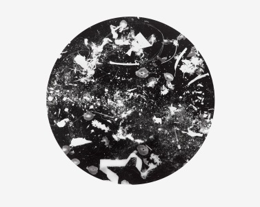 Unnatural Collection 4, photogram on resin coated photographic paper, 40.6cm x 50.8cm, 2016